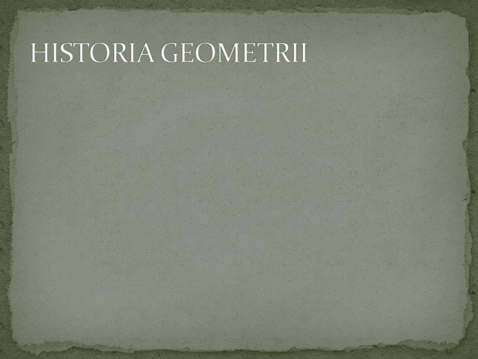 HISTORIA GEOMETRII