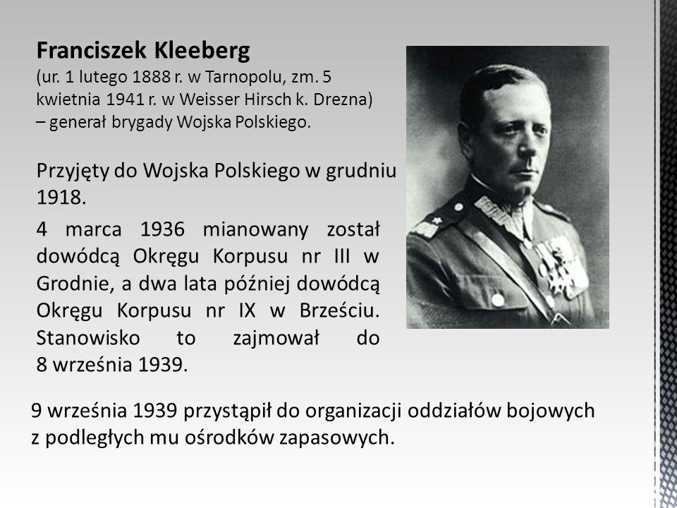 Franciszek Kleeberg (ur. 1 lutego 1888 r. w Tarnopolu, zm