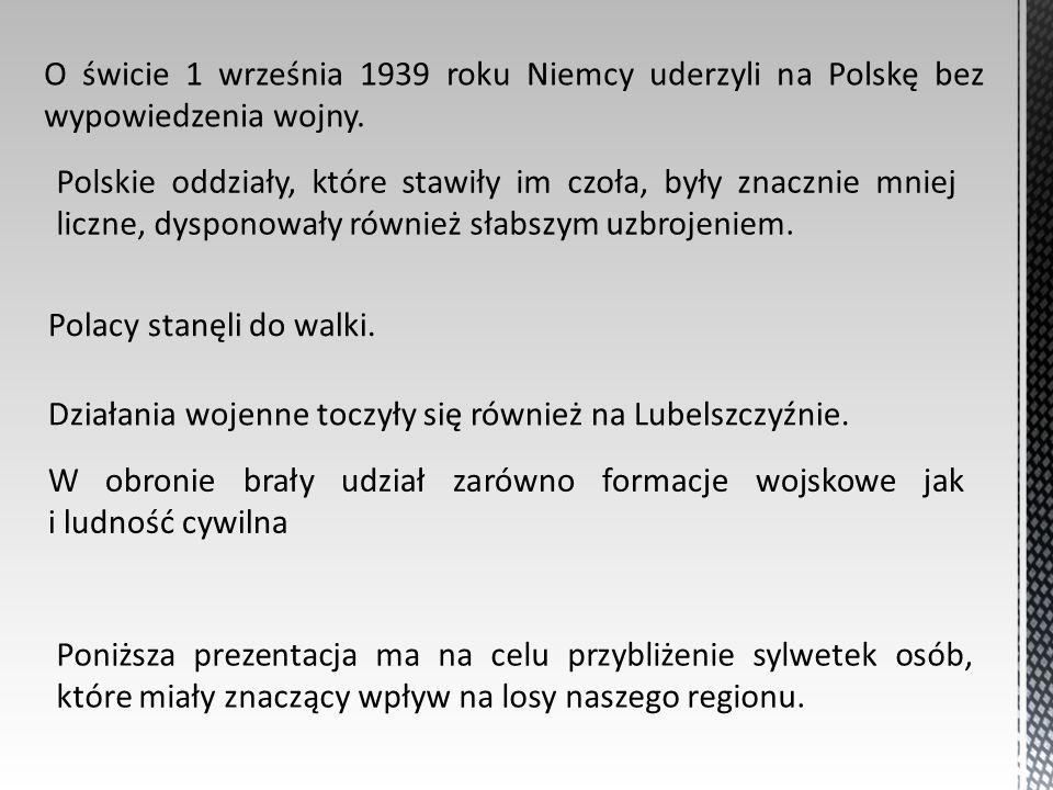 O świcie 1 września 1939 roku Niemcy uderzyli na Polskę bez wypowiedzenia wojny.