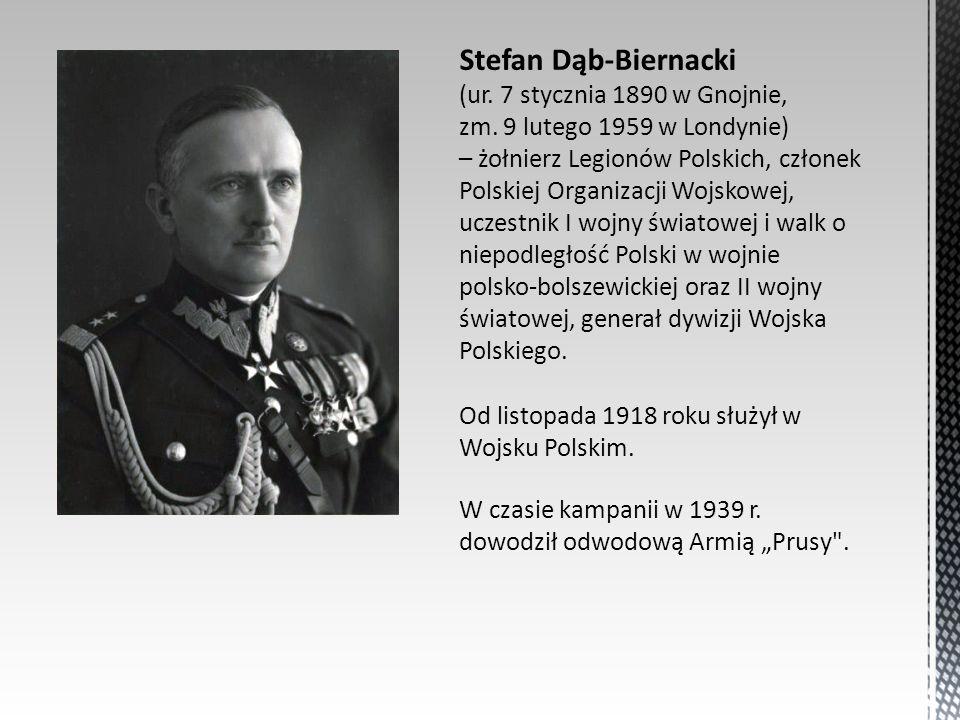 Stefan Dąb-Biernacki (ur. 7 stycznia 1890 w Gnojnie, zm