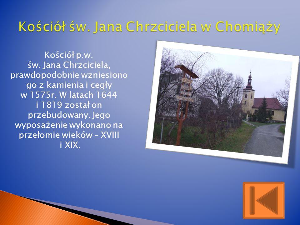 Kościół św. Jana Chrzciciela w Chomiąży