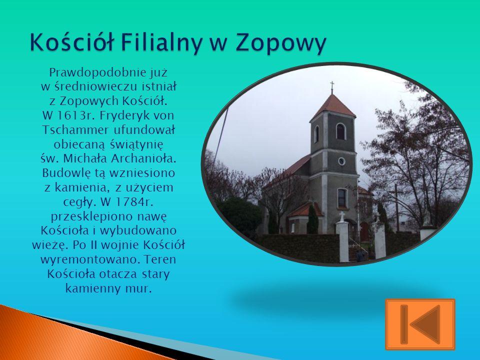 Kościół Filialny w Zopowy