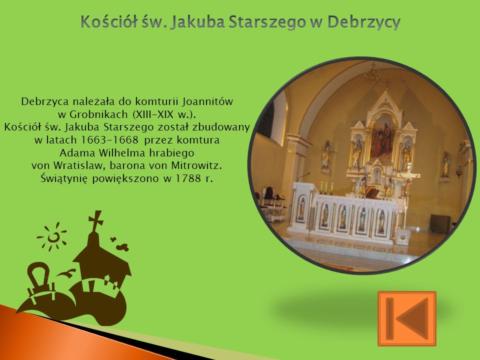 Kościół św. Jakuba Starszego w Debrzycy