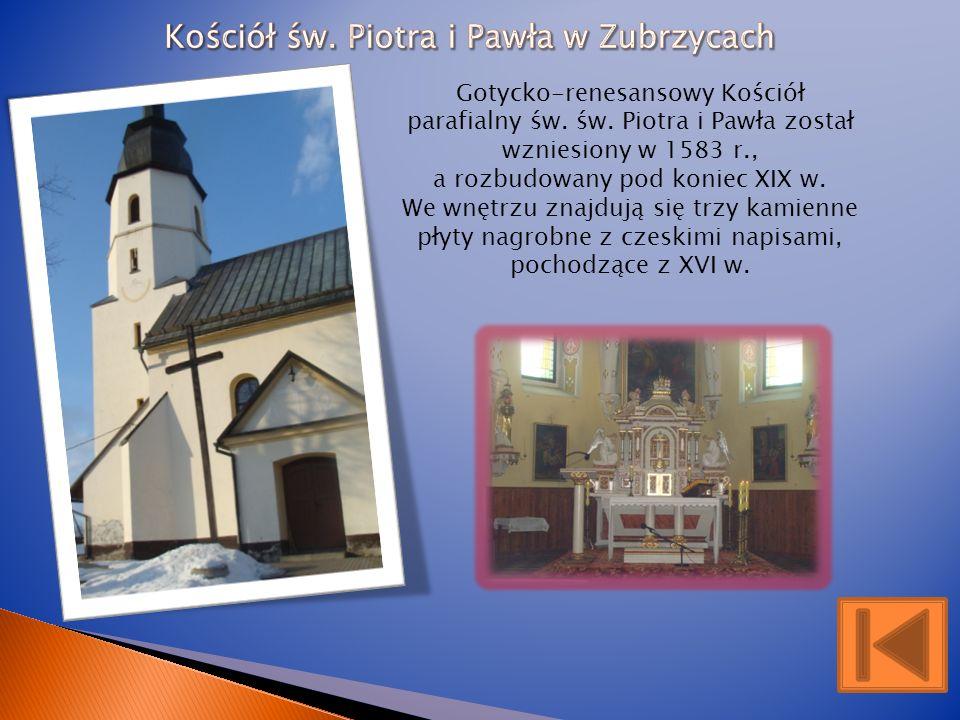 Kościół św. Piotra i Pawła w Zubrzycach