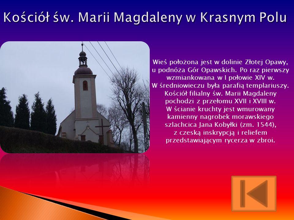 Kościół św. Marii Magdaleny w Krasnym Polu