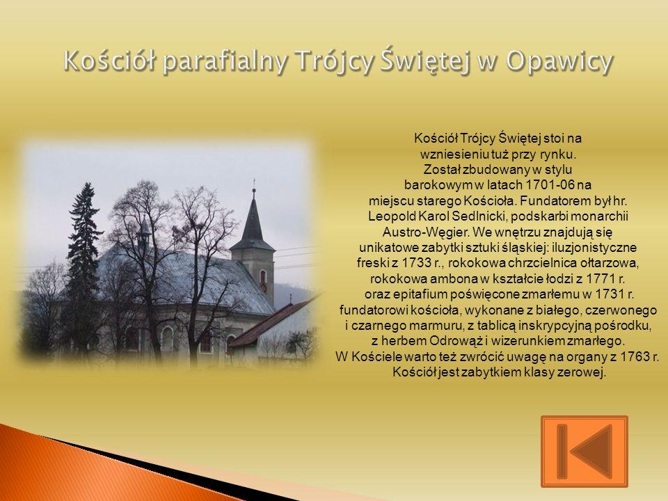 Kościół parafialny Trójcy Świętej w Opawicy