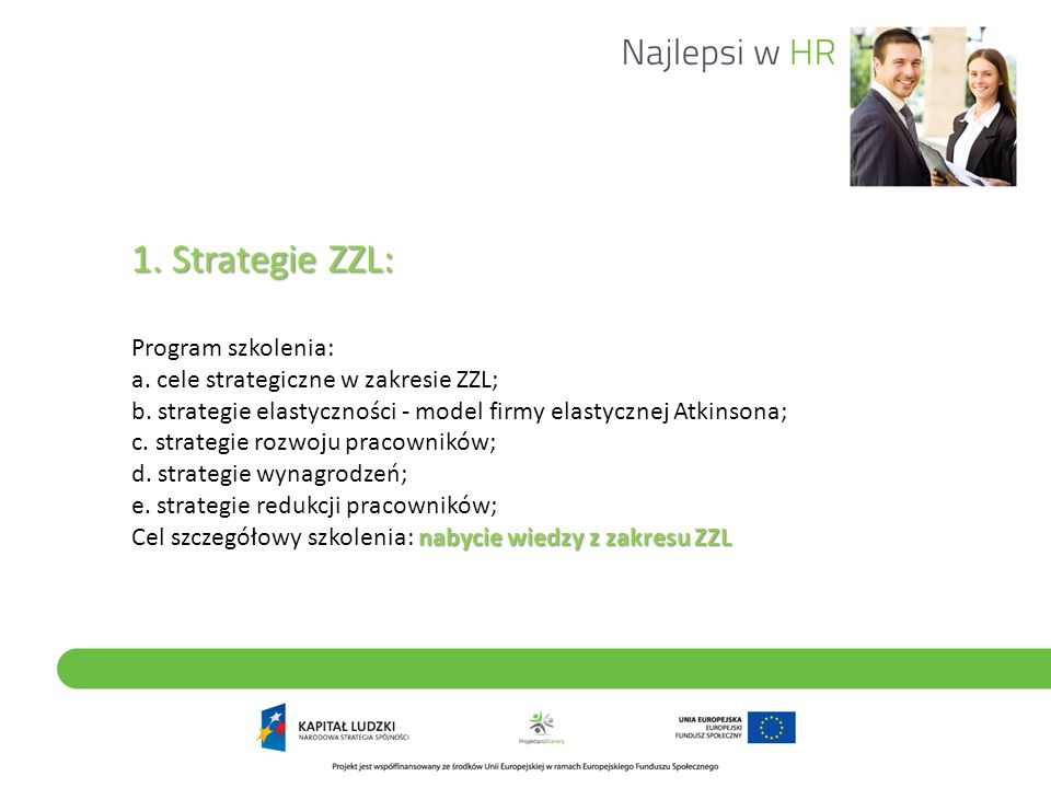 1. Strategie ZZL: