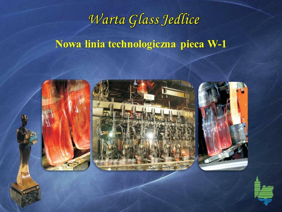 Nowa linia technologiczna pieca W-1
