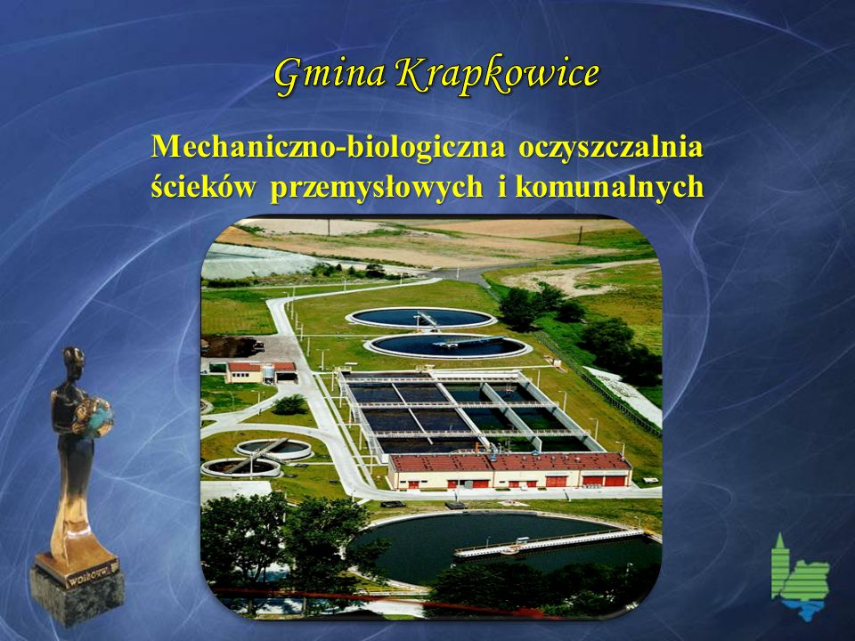 Gmina Krapkowice Mechaniczno-biologiczna oczyszczalnia