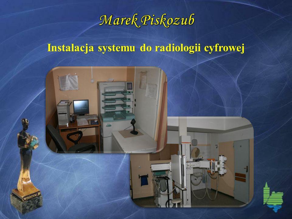 Instalacja systemu do radiologii cyfrowej