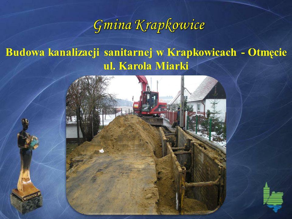 Budowa kanalizacji sanitarnej w Krapkowicach - Otmęcie