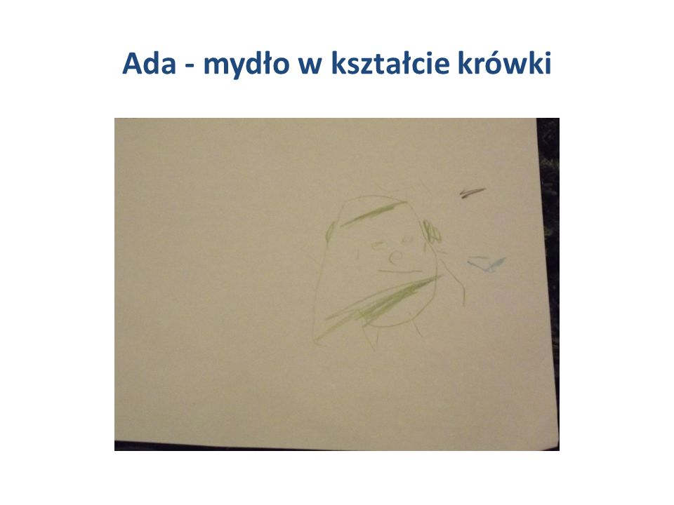 Ada - mydło w kształcie krówki