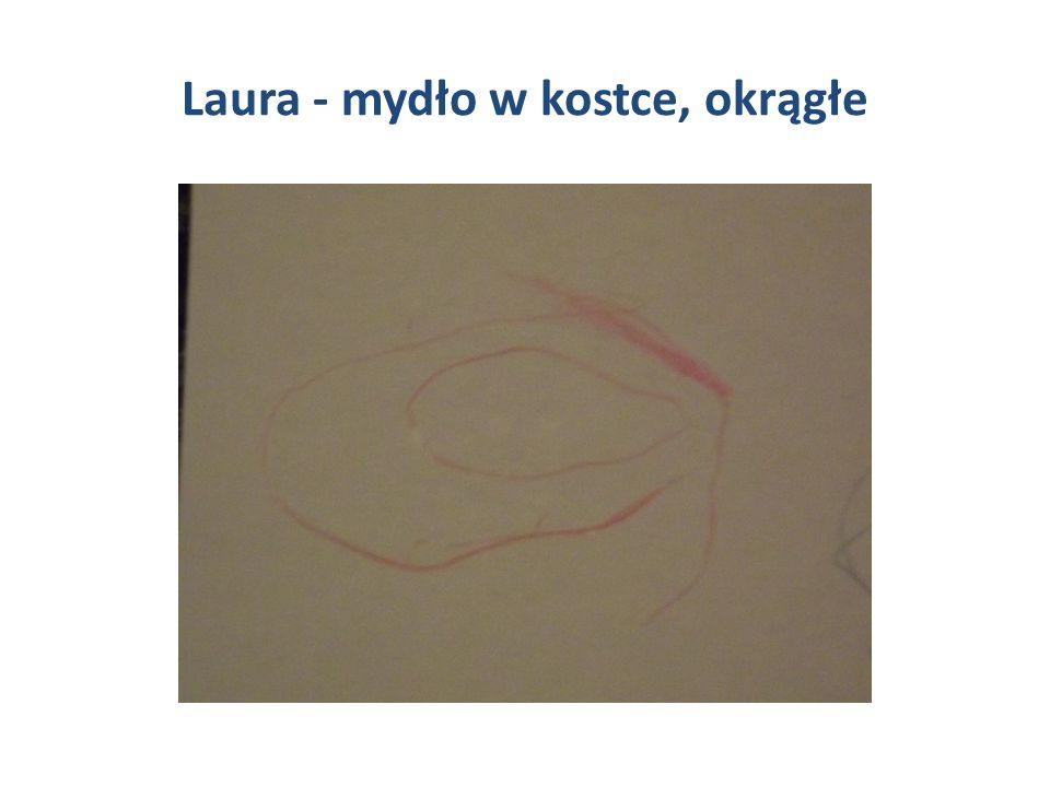 Laura - mydło w kostce, okrągłe
