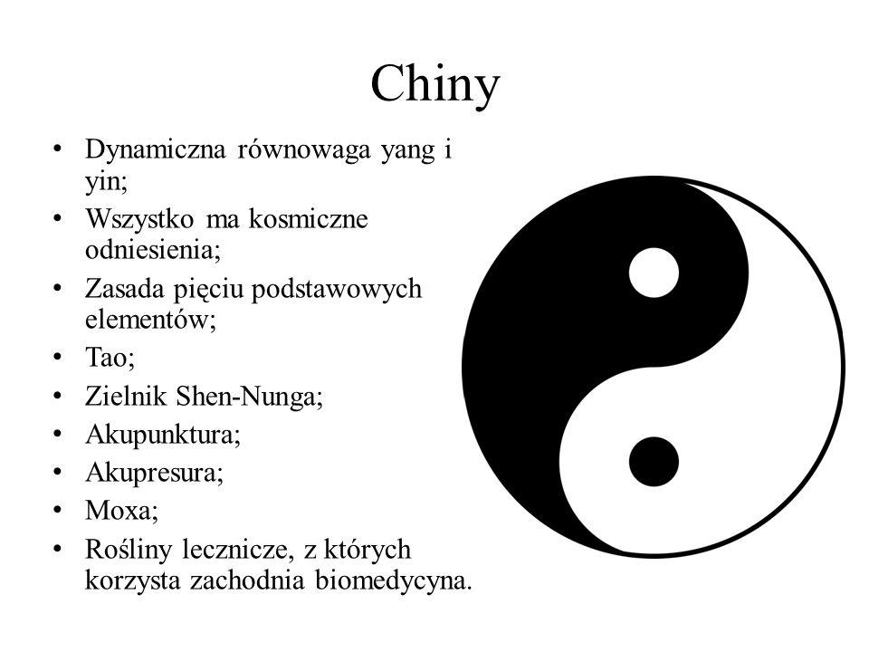 Chiny Dynamiczna równowaga yang i yin;