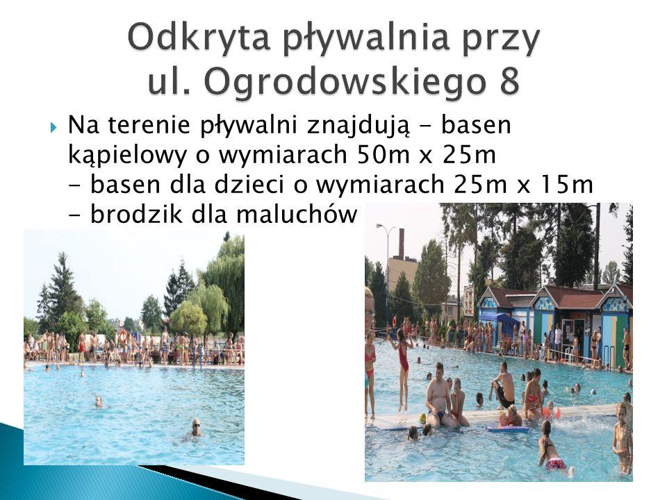 Odkryta pływalnia przy ul. Ogrodowskiego 8
