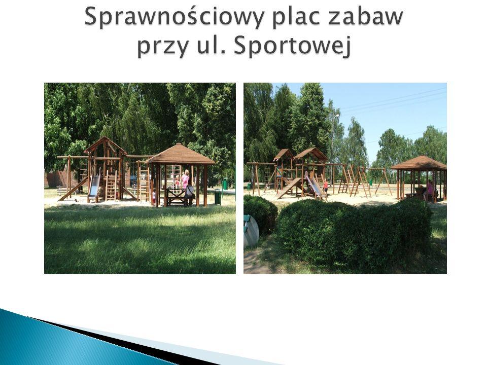 Sprawnościowy plac zabaw przy ul. Sportowej