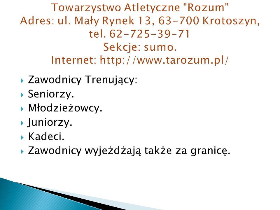 Towarzystwo Atletyczne Rozum Adres: ul