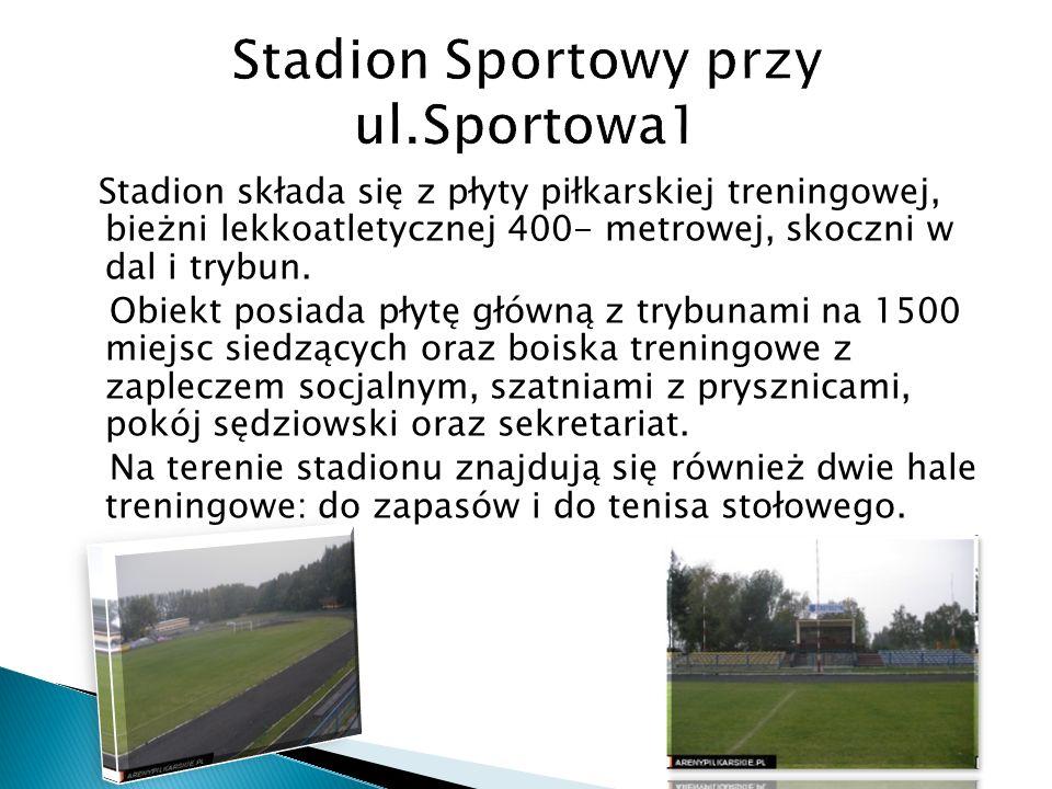 Stadion Sportowy przy ul.Sportowa1