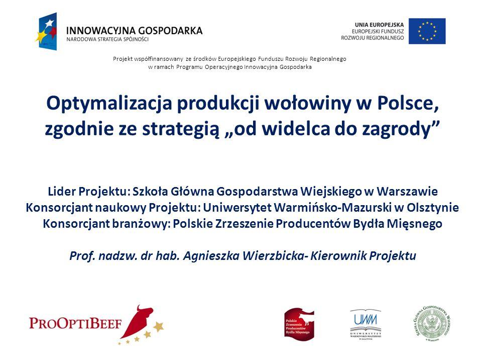 Optymalizacja produkcji wołowiny w Polsce,