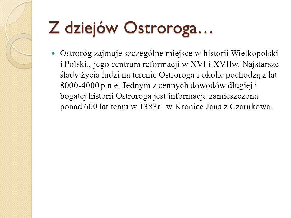 Z dziejów Ostroroga…