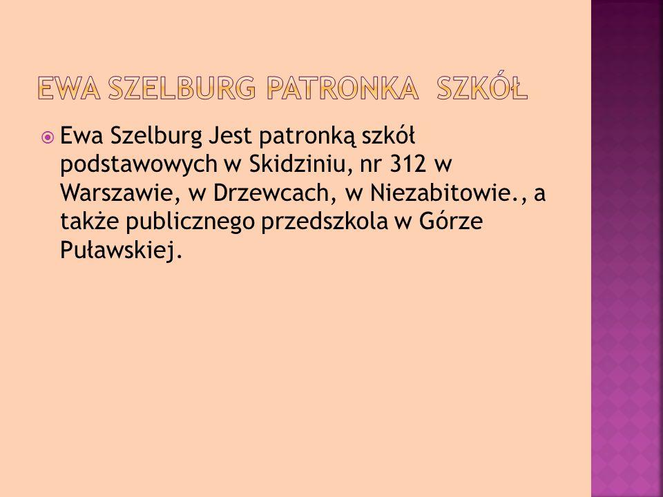 Ewa Szelburg patronka szkół