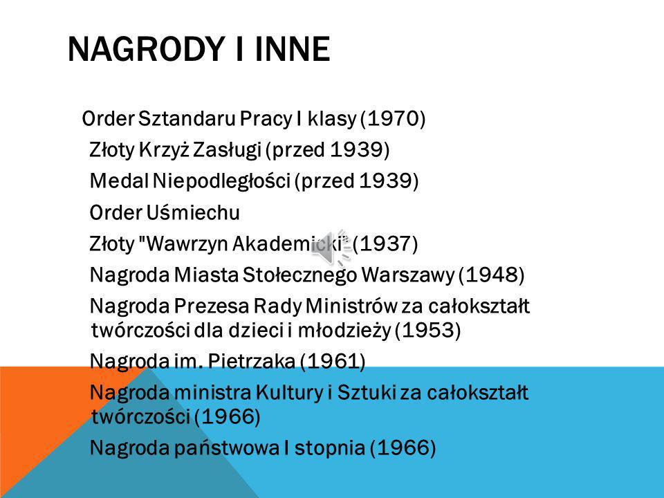 Nagrody i inne Złoty Krzyż Zasługi (przed 1939)