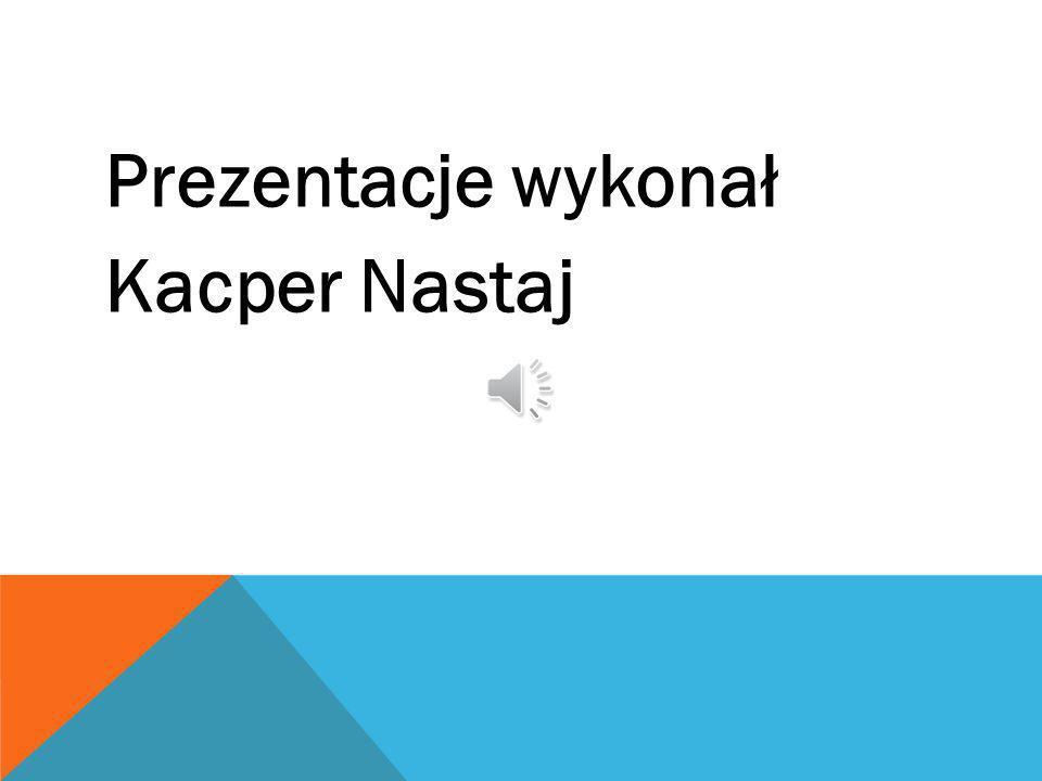 Prezentacje wykonał Kacper Nastaj