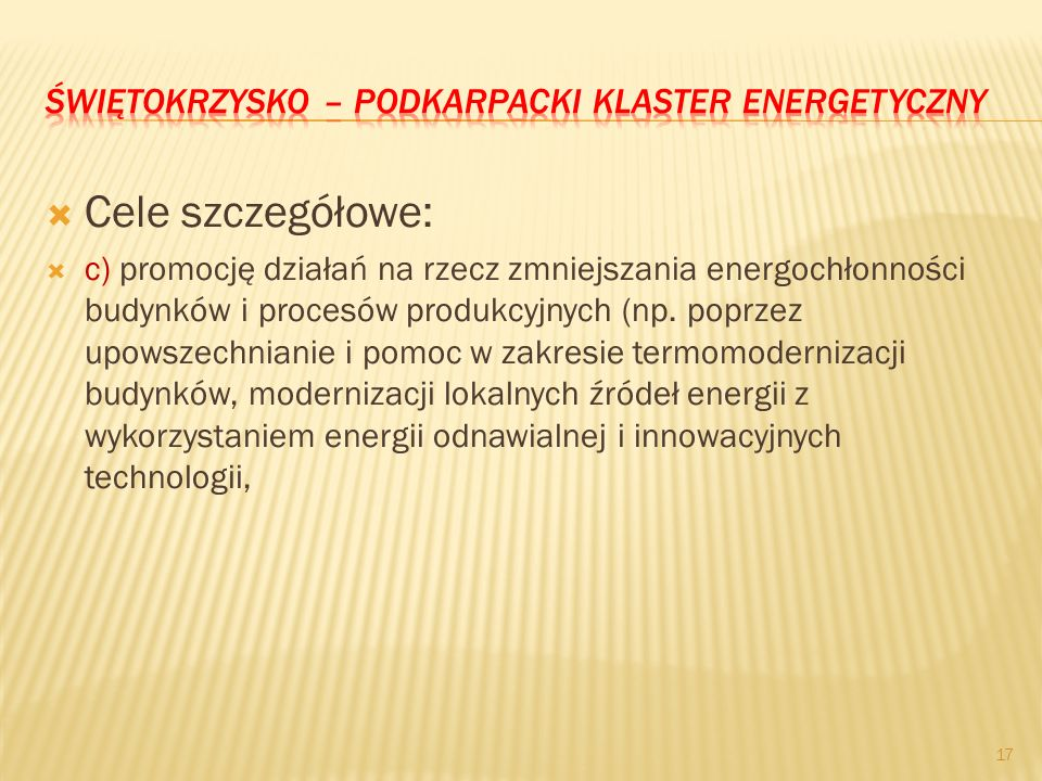 Świętokrzysko – Podkarpacki Klaster Energetyczny