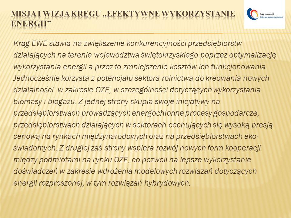 """Misja i wizja Kręgu """"Efektywne Wykorzystanie Energii"""