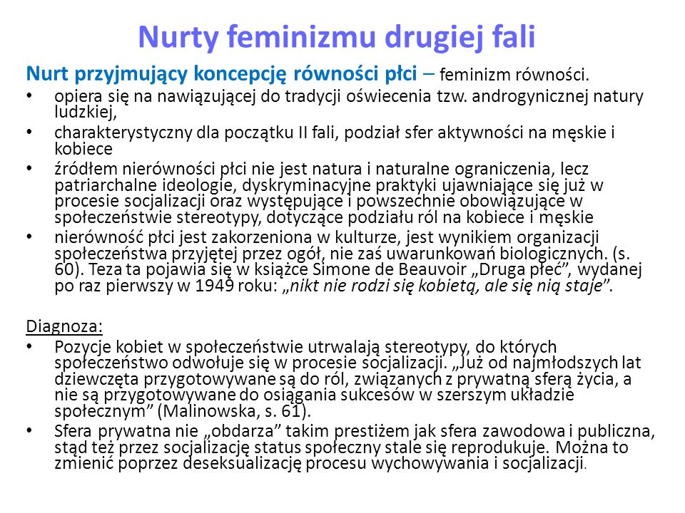Nurty feminizmu drugiej fali