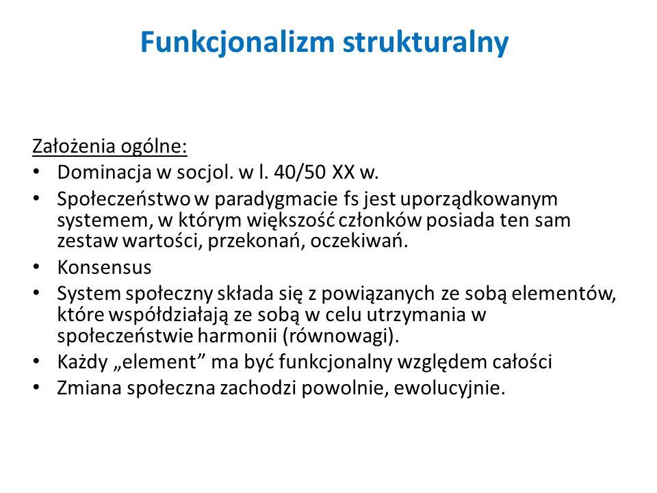 Funkcjonalizm strukturalny