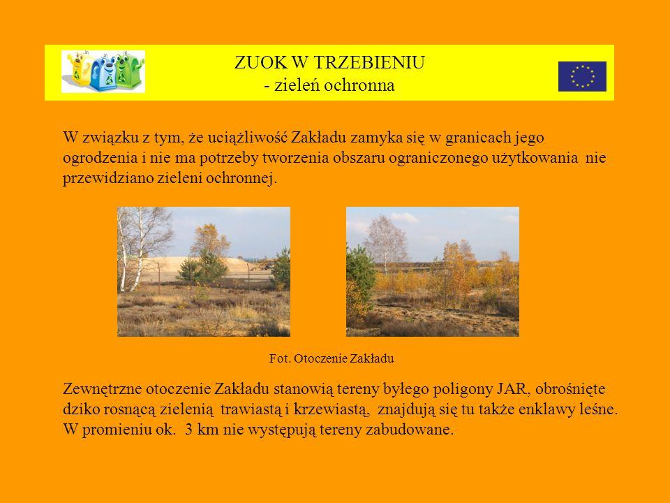 ZUOK W TRZEBIENIU - zieleń ochronna