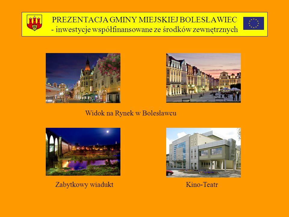 Widok na Rynek w Bolesławcu