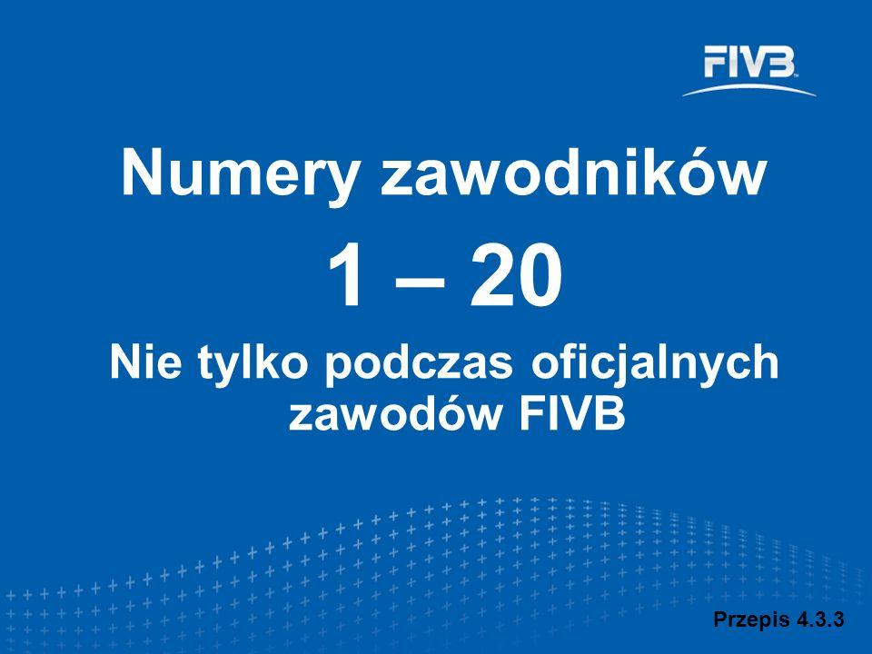 Nie tylko podczas oficjalnych zawodów FIVB