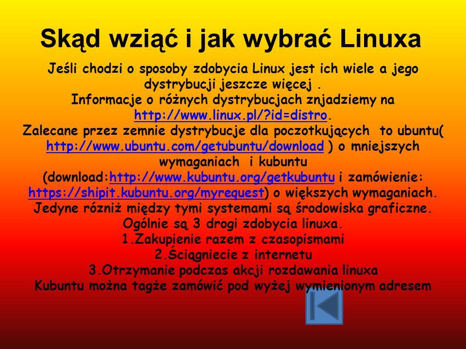Skąd wziąć i jak wybrać Linuxa
