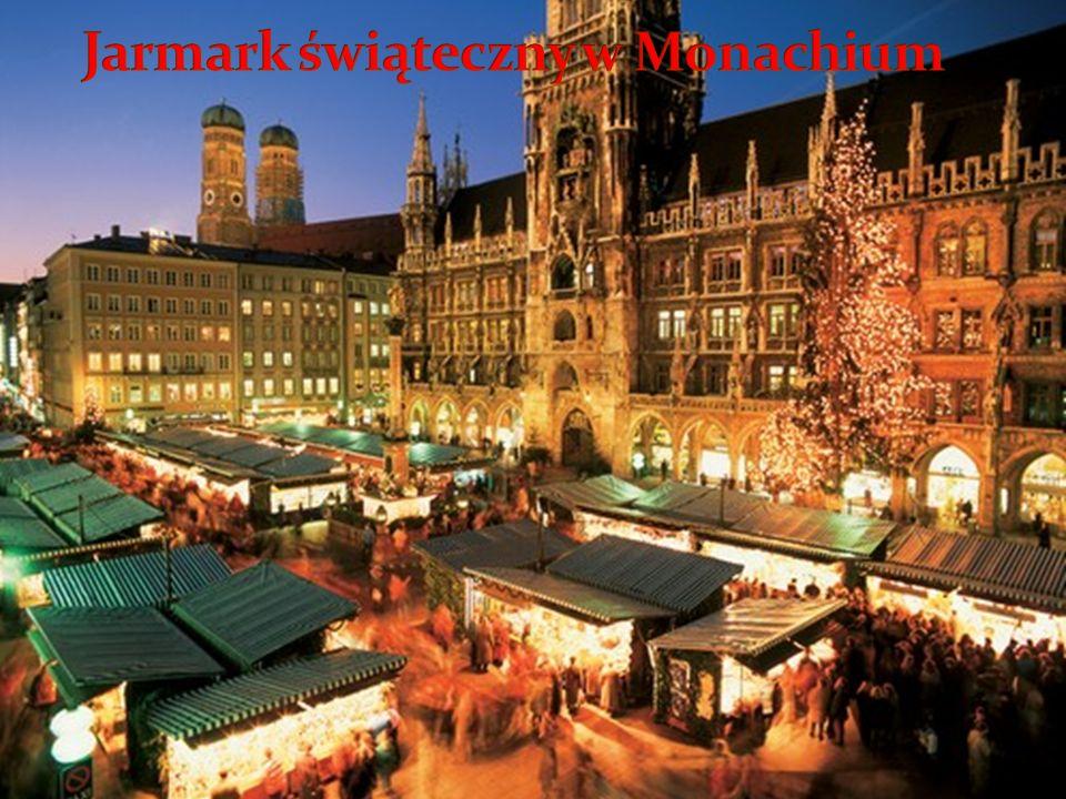 Jarmark świąteczny w Monachium