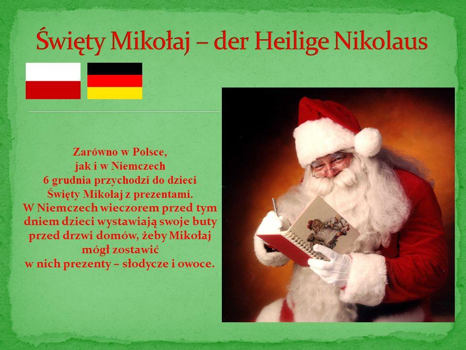 Święty Mikołaj – der Heilige Nikolaus