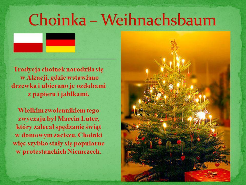 Choinka – Weihnachsbaum
