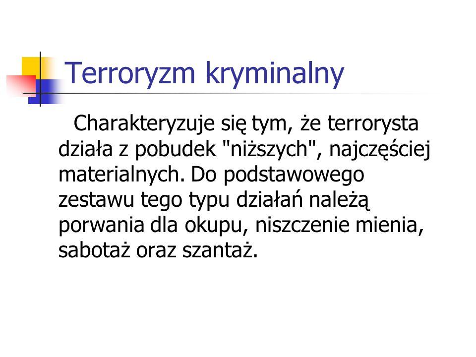 Terroryzm kryminalny