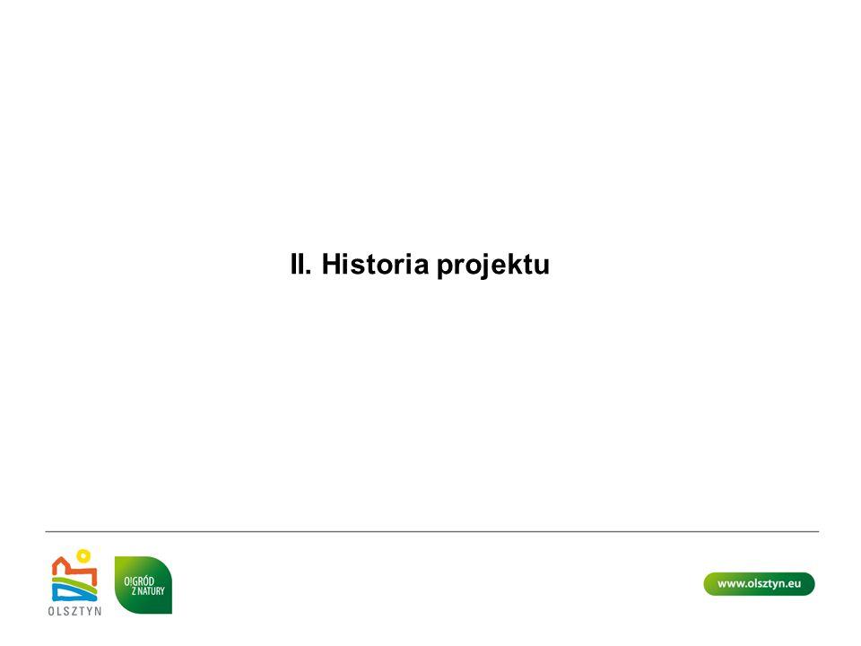 II. Historia projektu