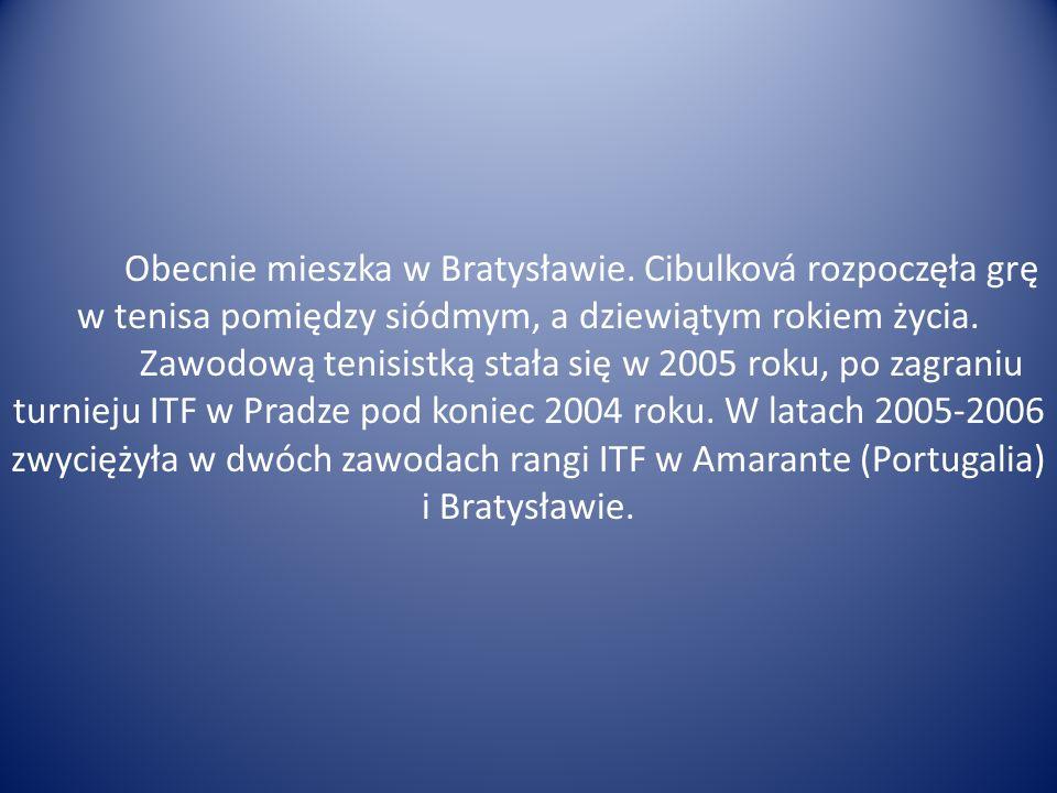 Obecnie mieszka w Bratysławie