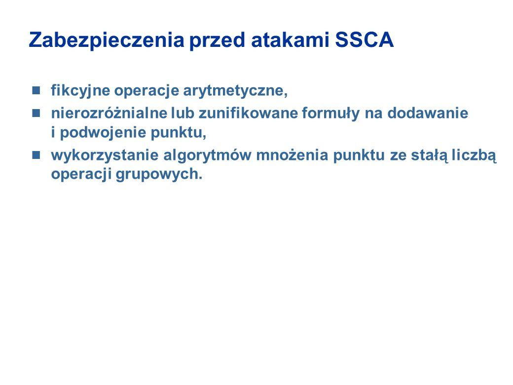 Zabezpieczenia przed atakami SSCA