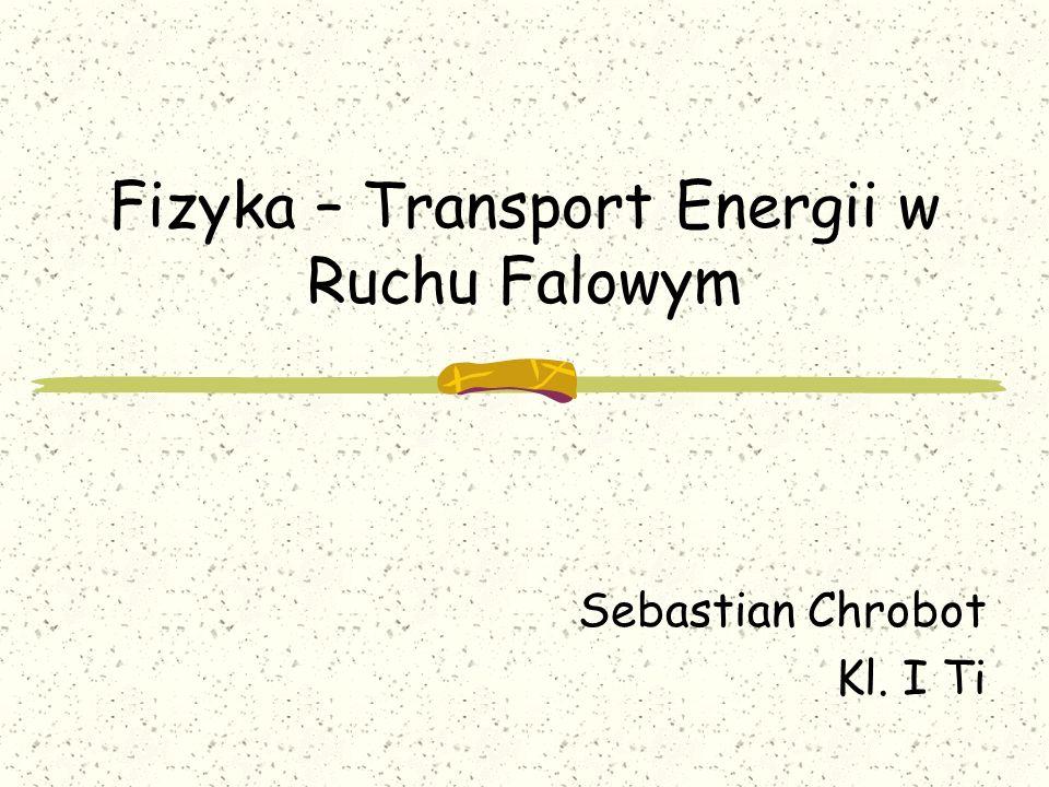 Fizyka – Transport Energii w Ruchu Falowym