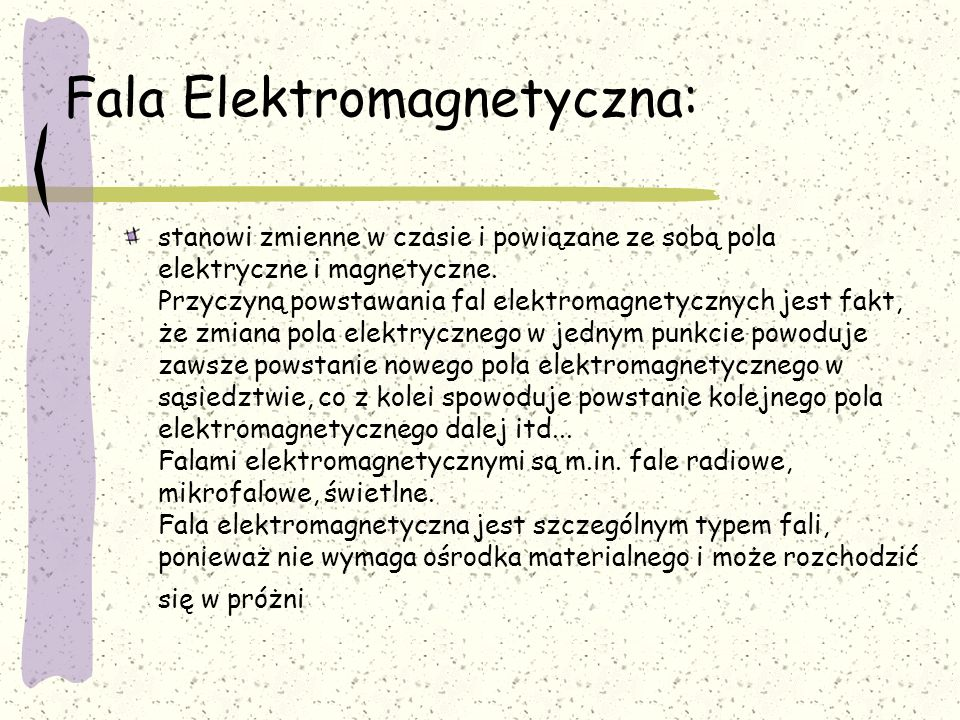 Fala Elektromagnetyczna: