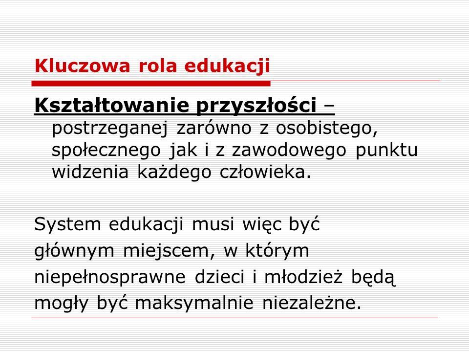 Kluczowa rola edukacji