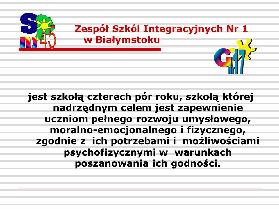 Zespół Szkól Integracyjnych Nr 1 w Białymstoku