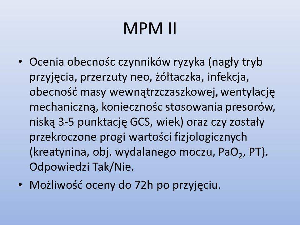 MPM II