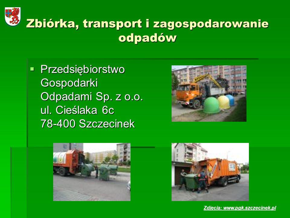 Zbiórka, transport i zagospodarowanie odpadów