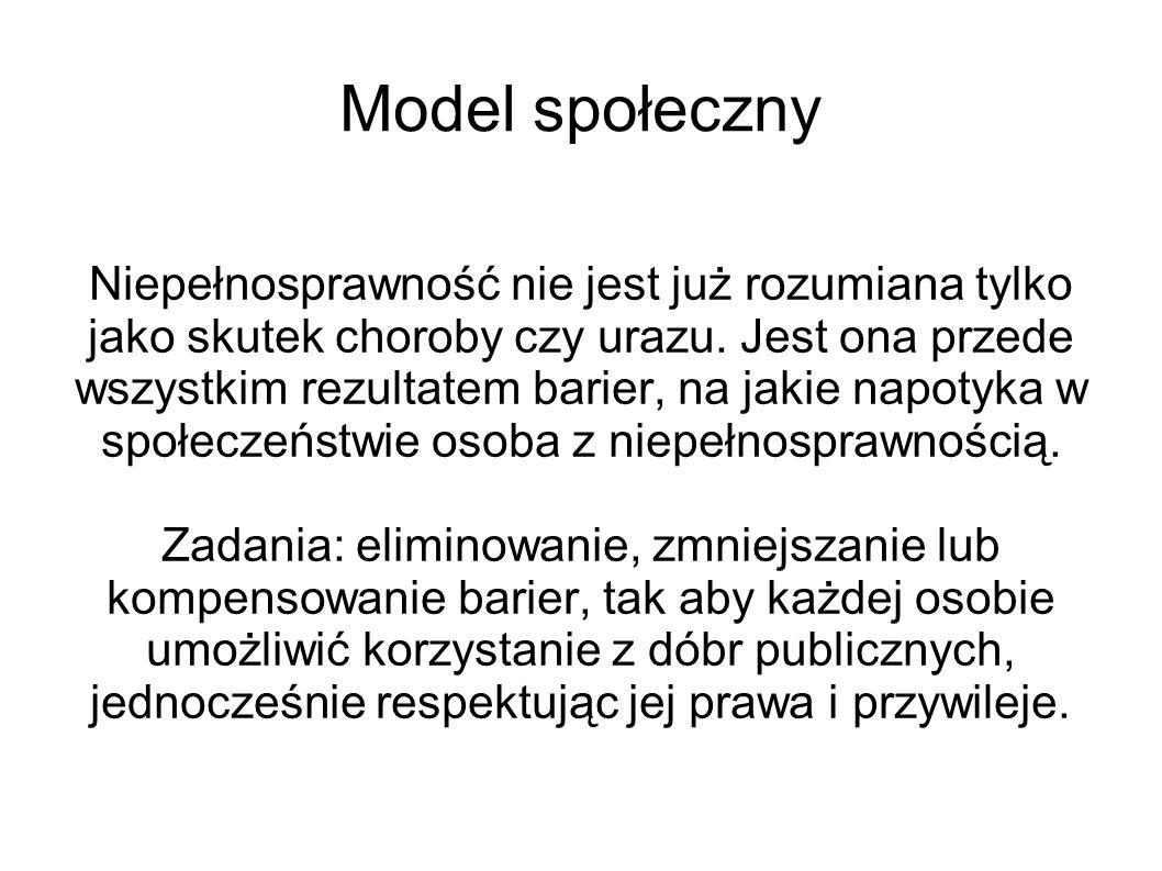 Model społeczny