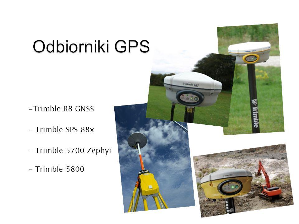 Odbiorniki GPS Trimble R8 GNSS - Trimble SPS 88x - Trimble 5700 Zephyr
